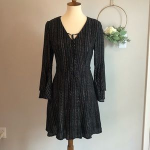 Collective Concepts- bell sleeve dress